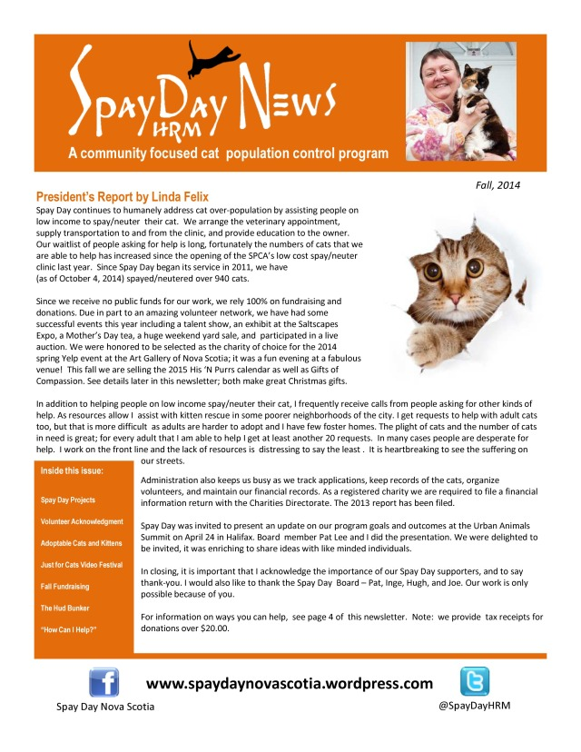 SpayDay Newsletter Fall 2014 (1)-page-0
