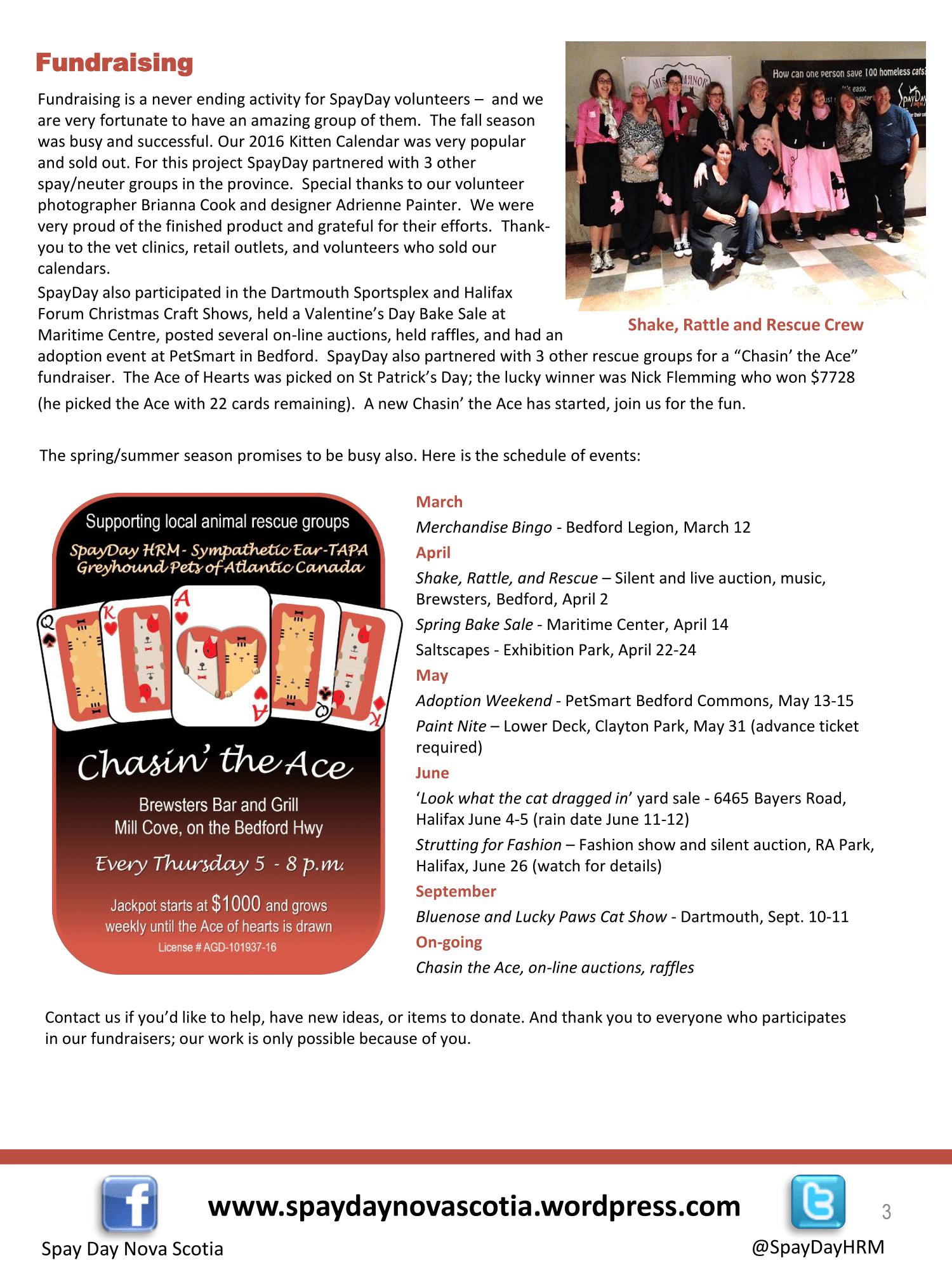 SpayDay Newsletter Spring 2016 2-3
