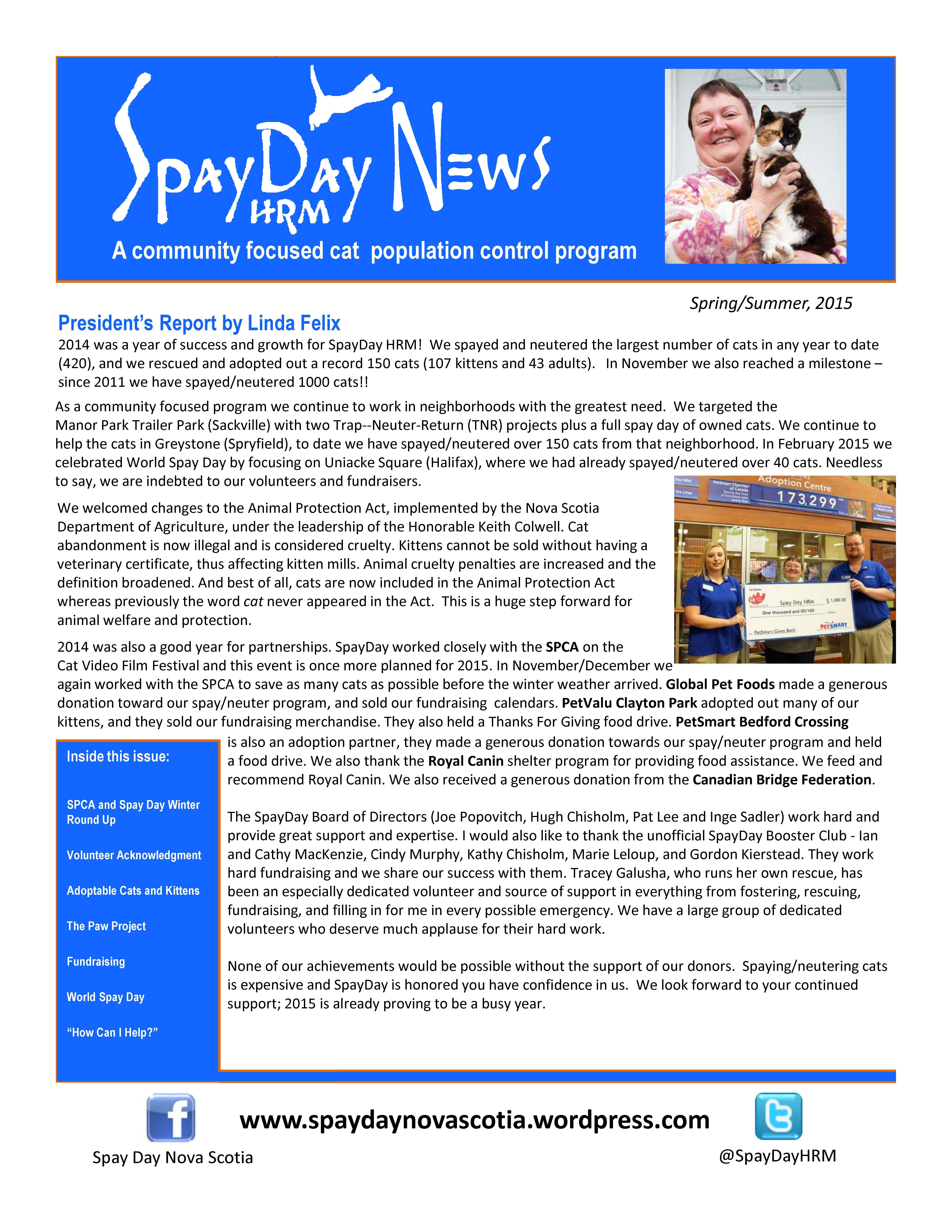 SpayDay Newsletter Spring Summer3_Page_1